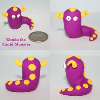 Wanda the Timid Monster by TimidMonsters