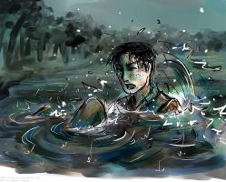 no Marco don't trip and fall in the lake wat by Tavoriel