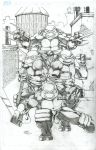 Teenage Mutant Ninja Turtles pencils by seanforney