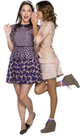 Francesca y Violetta PNG by CandyStoesselThorne