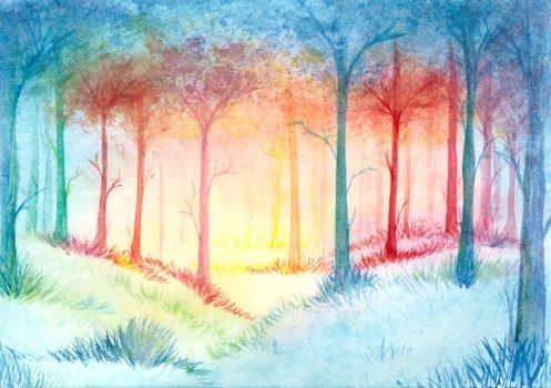 Forest by SouKir