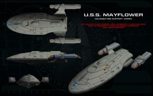 Mayflower Colonization Vessel 1 by unusualsuspex