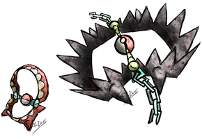 Teeth Trap Fakemon by T-Reqs