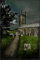 Morwenstow Church by lomoboy