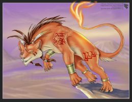 Red XIII by Ulario