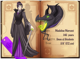 Once Upon A HS: Maleficent by Planet-Spatulon