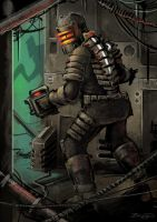 Dead Space Fan Art by craig-bruyn