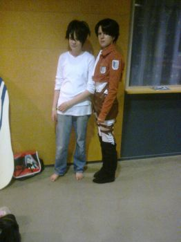 Desucon 2014 - Duo Lawliet and SNK by FinnishLegend