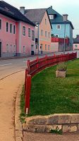 Fancy fence and little village houses by patrickjobst