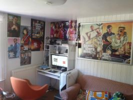 GTA PS2, PSP, PS3, PC Posters by DOM098652