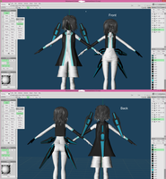Twins Differences by MMDCousins