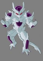 Frieza 5th Form by mlbjunior93