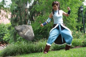 Korra Earthbender by Pandothiel-Elrond
