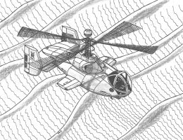 Culex Scout Helo Desert Cruises by TheCentipede