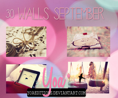 Walls Septiembre by yoaeditions