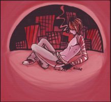 Matt in The Big City by andrahilde
