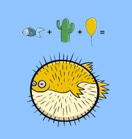 Puffer Fish by Bakus-design