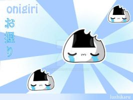 onigiri wallpaper 1 by luzhikaru