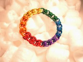 Of Rainbows and Rhinos by chainmaille