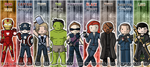 Avengers: Bookmarks Assembled by wondering-souls