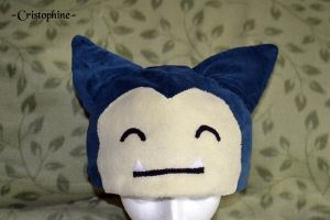 Snorlax Hat by Cristophine