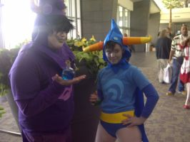 Neko-Con 2012: Gamzee Makara and Tavros God Tiers by LingeringSentiments