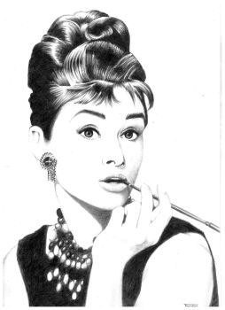 Hepburn by IndraNeil