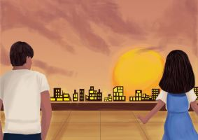 Forever Sunset by sitidini