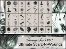 Scarz-N-Woundz PS7 by TammySue by The-Stock-Hospital