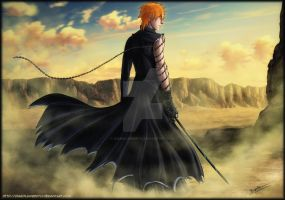Ichigo - come on, Aizen by diabolumberto