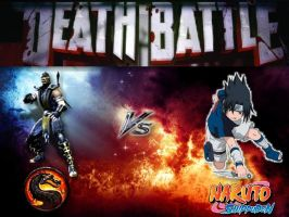 D.B.: Scorpion Vs Sasuke by Stormtali