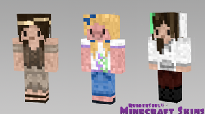 Minecraft Skins by RubberSoul4
