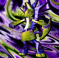 I Can Be Purple AND Green by WolvesDestinyBlood