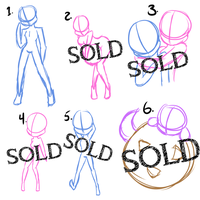 Pre Poses For Sale~ Cash or Points by BlueWaterRose