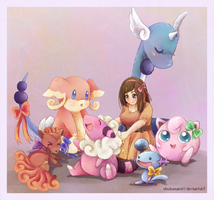 pokebabies by shubasami
