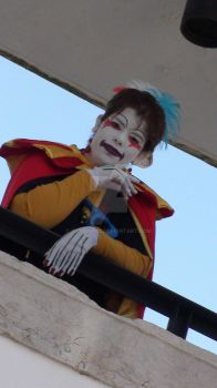 Kefka Palazzo  Cosplay Dissidia 13 by Candy2012