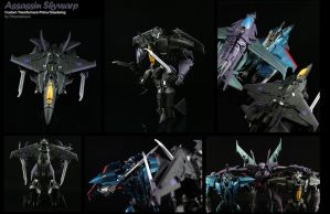 Custom Transformers Prime Skywarp Assassin by chonosmoon