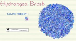 PS : Hydrangea brush by Pluvias