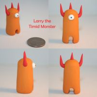 Larry the Timid Monster by TimidMonsters