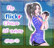PComunity - Ficha Fly by Paulinda-art