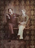 Oscar Wilde and Bosie Douglas by Susie-K