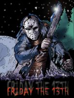 Jason by dlxcsccomicartist by Horror-Forever