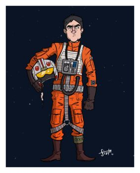 X-Wing Pilot by stayte-of-the-art