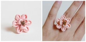 Peony Ring by Arleen