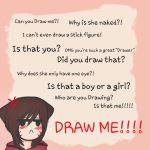 Stuff people say to artists  by monalisacandy123