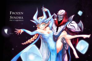 [LOL] Frozen Syndra~(Finish) by beanbean1988