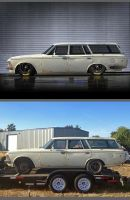 Mikes Project Car By Muethbooth - Stock Car style by rubrduk