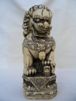 Foo Dog 01 by DKD-Stock