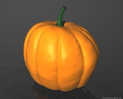 Pumpkin Model by VickyM72