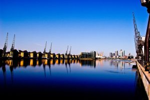 Expo Dockland Reflections by Foxseye